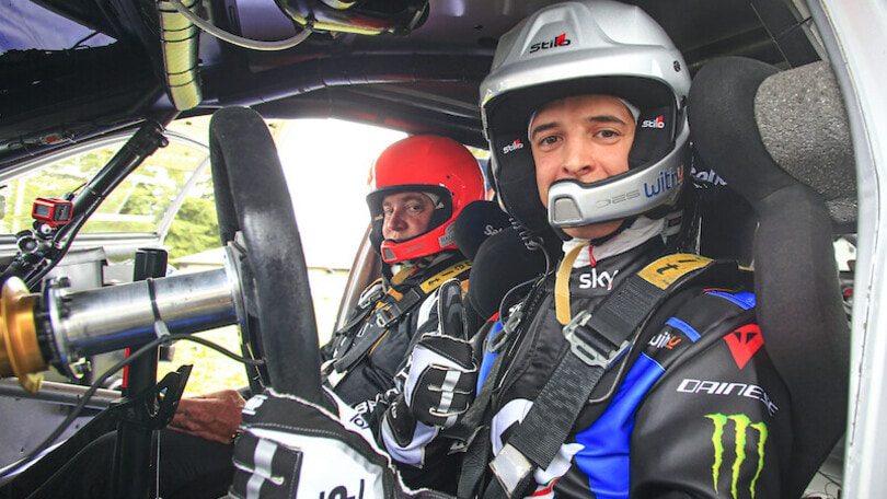 Dal Motomondiale al rally: piloti VR46 in azione con la Hyundai FOTO