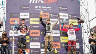 MXGP del Belgio: la vittoria è di Romain Febvre