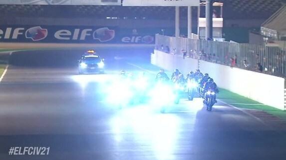 CIV Misano 2021, SBK: gli highlights della prima gara in notturna