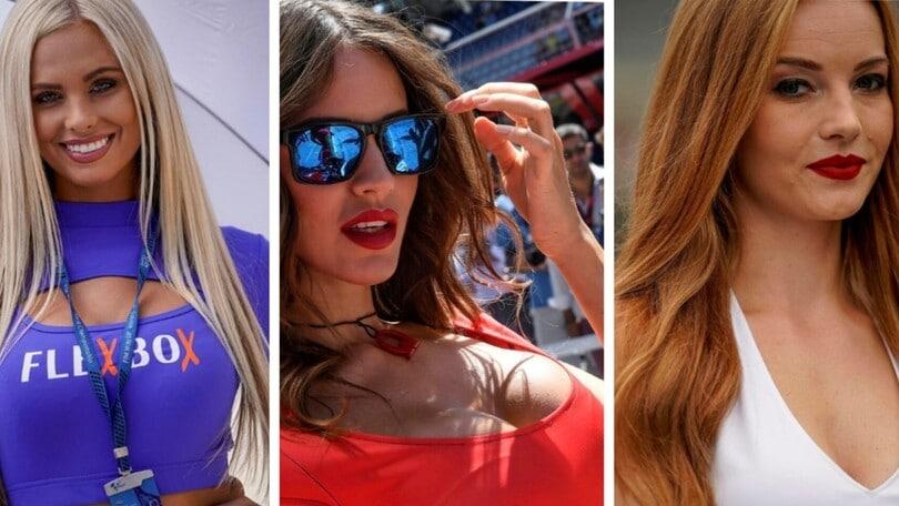 MotoGP: un tuffo nel passato con le grid girl più belle dell'Austria