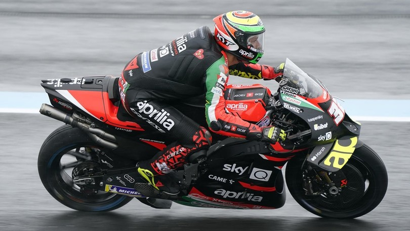 MotoGP Styrie, FP2: Savadori emmène Aprilia au sommet, Rossi en dernier