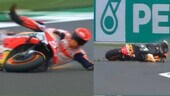 MotoGP Gran Bretagna: Marc Marquez distrugge la sua Honda a 274 km/h