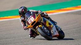 Moto2 Aragon: pole per Sam Lowes, Bezzecchi solo 9°
