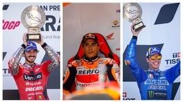MotoGP Aragon, Parco Chiuso: il commento di Bagnaia, Marquez e Mir