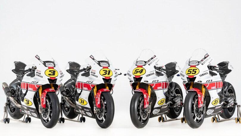 Yamaha svela la livrea per i 60 anni: ecco le R1 con la grafica celebrativa