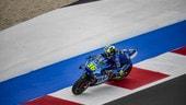 """MotoGP Misano, Mir commenta le prove: """"Bene su asciutto e bagnato"""""""