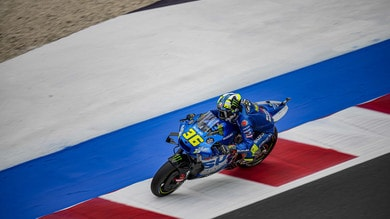 """MotoGP Misano, Mir comments on practice: """"Good in the wet and dry"""""""