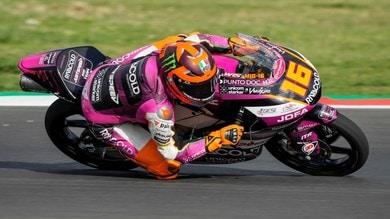 Moto3 GP San Marino, FP3: Migno primo, brutte cadute per Oncu e Surra