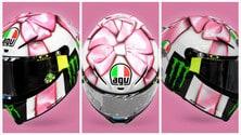 MotoGP: il casco speciale del futuro papà Valentino Rossi per il GP Misano