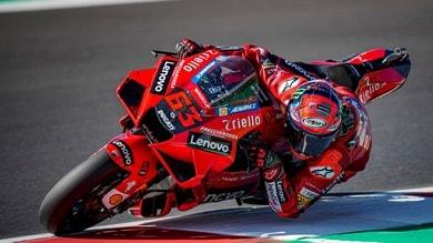 Qualifiche MotoGP Misano: è doppietta Ducati con Bagnaia in pole position