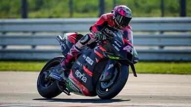 Test Misano MotoGP, Day 2: Aleix Espargarò al comando, segue Bagnaia