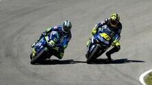 La sequenza del contatto tra Rossi e Gibernau a Jerez 2005