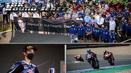 SBK Jerez: doppietta di Razgatlioglu, nel ricordo di Dean Berta Vinales