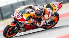 GP Americhe MotoGP: Marquez vince in solitaria, su Quartararo e Bagnaia