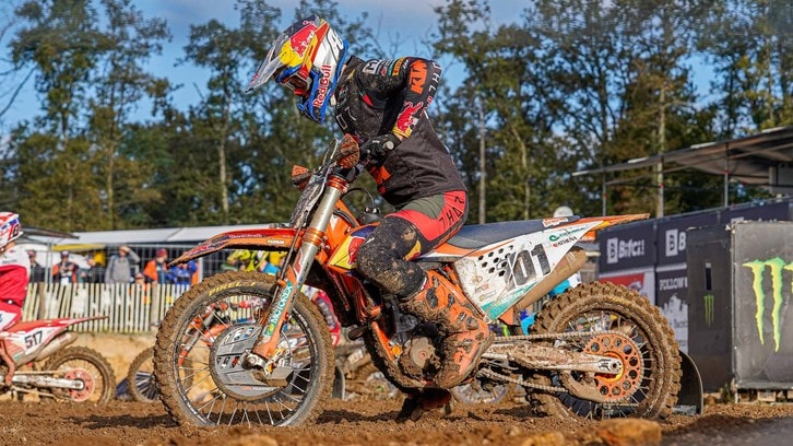 MXGP: in Francia pole position ancora a Herlings