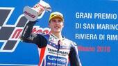 Moto2: Misano e Lorenzo Baldassarri, una prima in grande stile