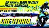 GP di Misano, il poster dedicato a Valentino Rossi