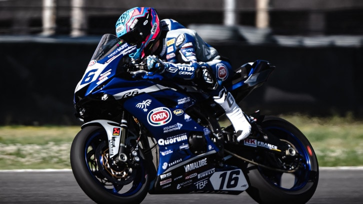 SSP600 Argentina: Jules Cluzel domina Gara 1, Manuel Gonzalez 2°