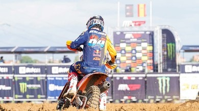 MXGP: pole position a Herlings in Spagna