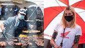 SBK Argentina: il paddock di San Juan, tra grigliate e ombrelline