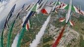 MotoGP: Frecce Tricolori sul cielo di Misano