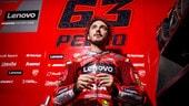 "MotoGP, Bagnaia: ""La MotoE Ducati? Non so se vorrei provarla"""